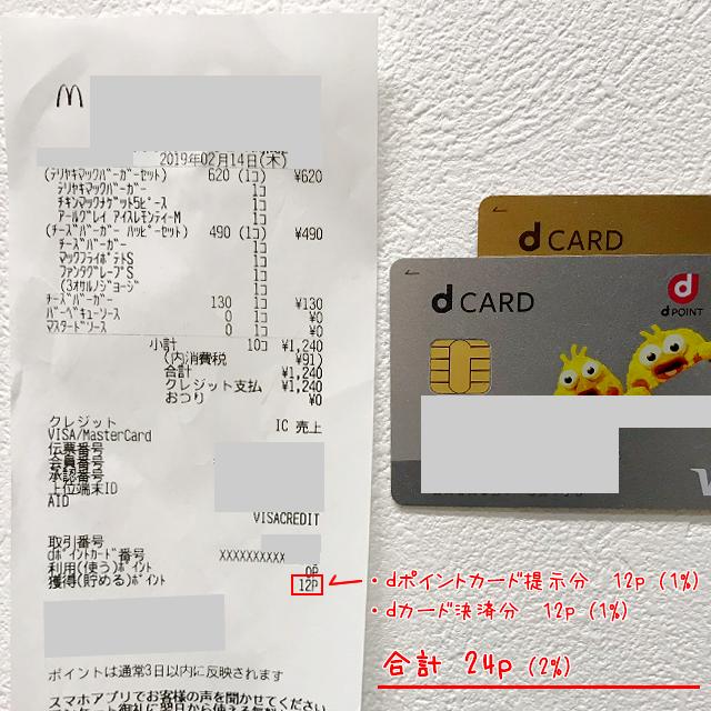 楽天カードとdカードで比較
