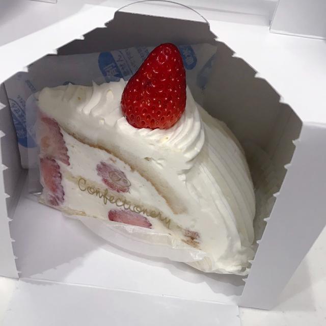 不二家で人気のショートケーキ