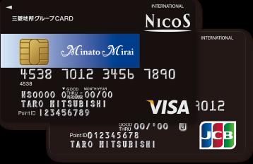 三菱地所グループCARD(みなとみらいポイントカード一体型)
