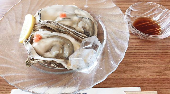 美咲で岩牡蠣を注文